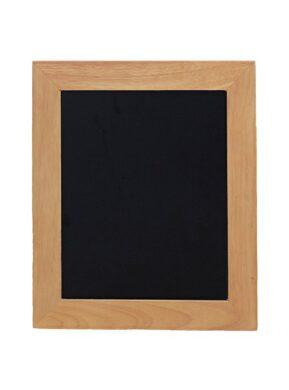 Nástěnná popisovací tabule UNIVERSAL, 30x40 cm, teak(WBU-TE-30)