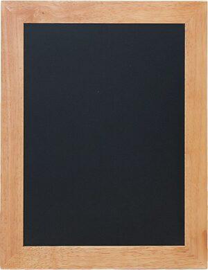Nástěnná popisovací tabule UNIVERSAL, 40x50 cm, teak(WBU-TE-40)