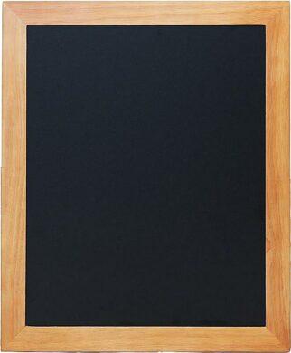 Nástěnná popisovací tabule UNIVERSAL, 50x60 cm, teak(WBU-TE-50)