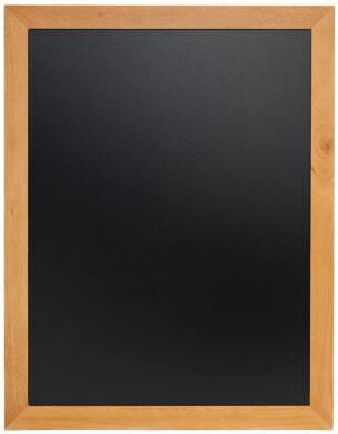 Nástěnná popisovací tabule UNIVERSAL, 70x90 cm, teak(WBU-TE-70)