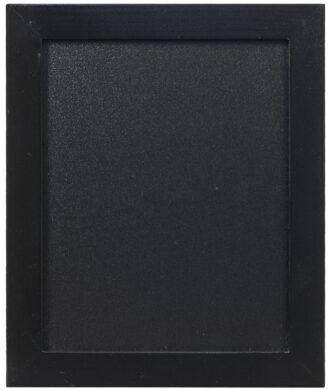 Nástěnná popisovací tabule WOODY s popisovačem, 20x24 cm, černá(WBW-BL-20-24)
