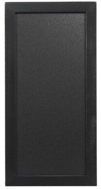 Nástěnná popisovací tabule WOODY s popisovačem, 20x40 cm, černá(WBW-BL-20-40)