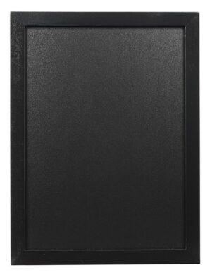 Nástěnná popisovací tabule WOODY s popisovačem, 30x40 cm, černá(WBW-BL-30-40)