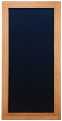 Nástěnná popisovací tabule WOODY s popisovačem, 20x40 cm, teak(WBW-TE-20-40)