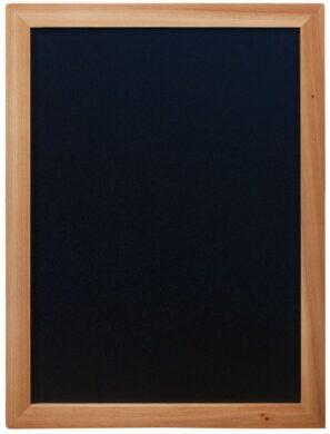 Nástěnná popisovací tabule WOODY s popisovačem, 30x40 cm, teak(WBW-TE-30-40)