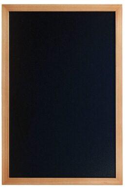 Nástěnná popisovací tabule WOODY s popisovačem, 40x60 cm, teak(WBW-TE-40-60)
