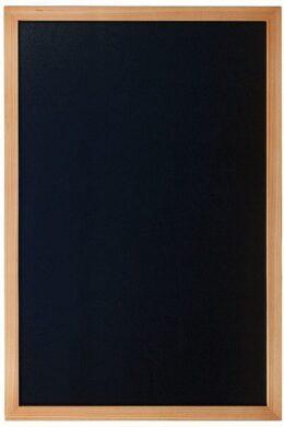 Nástěnná popisovací tabule WOODY s popisovačem, 60x80 cm, teak(WBW-TE-60-80)