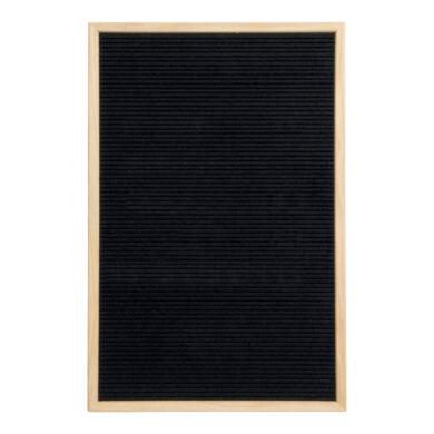 Nasouvací tabulka 40x60cm s dřevěným rámečkem a 360 plast.písmeny,čísly a symb.(WLB-TE-40-60)