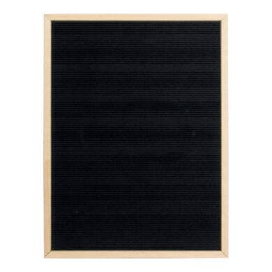 Nasouvací tabulka 60x80cm s dřevěným rámečkem a 360 plast.písmeny,čísly a symb.(WLB-TE-60-80)