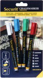 Sada 4 tenkých popisovačů 1-2 mm v blisteru, různé barvy