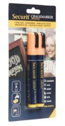 Střední popisovač šířka hrotu 2-6 mm 2 kusy, oranžový(BL-SMA510-OR)