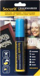 Silný popisovač šířka hrotu 7-15 mm, modrý
