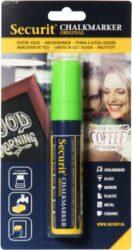 Silný popisovač šířka hrotu 7-15 mm, zelený