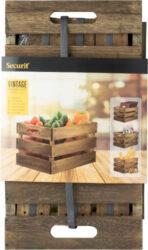 Dřevěný box na jídelní lístky 21x33x24,2 cm(CR-VIN)