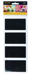 Set 8 ks samolepících fólií obdélníkového tvaru 8,5x5 cm, k použití popisovačů(CS-RECT-8)