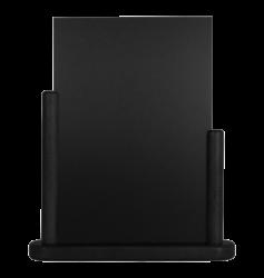 Stolní stojánek s popisovací tabulkou veký, černá