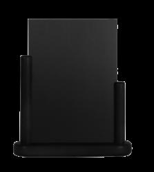 Stolní stojánek s popisovací tabulkou střední, černá