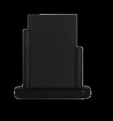 Stolní stojánek s popisovací tabulkou malý, černá