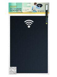 Popisovací tabule Silhouette WIFI- včetně popisovače + upevňovací pásky na stěnk(FB-WIFI)