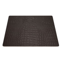 Podložky čtvercové DAG Style 9 kusů, 31x41 cm, Brown Kroko