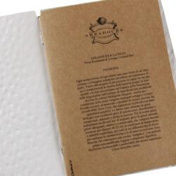 Personifikační vložka k jídel. lístkům ECO NATURAL 0,6 mm, A4-Personifikační vložka k jídelním lístkům DAG celulóza COUNTRY, A4