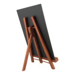 Stolní stojánek s popisovací tabulkou JUNIOR, mahagon(JUN-M-A4)
