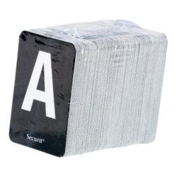 Lišta na vytváření nápisů s písmeny a čísly, 1 m. Teak(LES-TE-100)