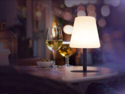 Water-resistant wireless Securit Table Lamp(LP-BL-TA)