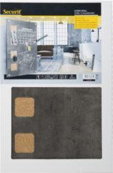 Popisovací tabule Living Wall s korkovými čtverci, 58x38 cm(LW-GY-58)