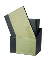 Box s jídelními lístky TRENDY,zelená (20 ks)(MC-BOX-TRA4-GR)
