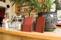 Box s jídelními lístky TRENDY, vínově červená (20 ks)(MC-BOX-TRA4-WR)
