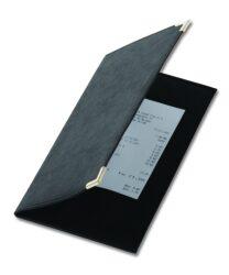 Desky na účtenku CLASSIC, černá-Desky na účtenku k jídelníčkům řady CLASSIC