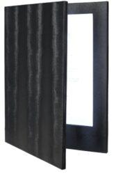 Jídelní lístek LED, osvělený, A4, černá