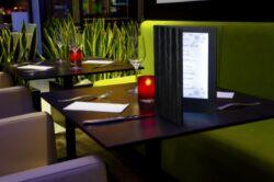 Jídelní lístek LED, osvělený, A4, měděná(MC-LDA4-CP)