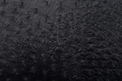 Jídelní lístek A4, kůže, hrubší povrch, kovový štítek, černý(MC-LRA4-EGBL)