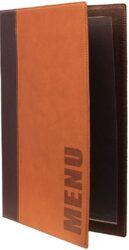 Jídelní lístek TRENDY A4, světle hnědá(MC-TRA4-LB)