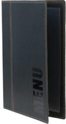 Jídelní lístek TRENDY A5, černá(MC-TRA5-BL)