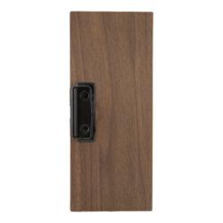Desky na účtenky z ořechového dřeva s boční sponou