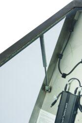 Informační zasklená tabule Stainless Steel  4 x A4 Pages(MCS-4A4-WLSS)