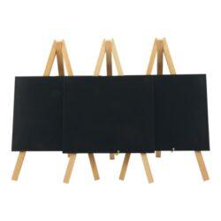 Stolní stojánek s popisovací tabulkou MINI (3ks), přírodní