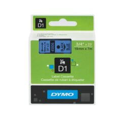 DYMO páska D1 19mm x 7m, černá na modré