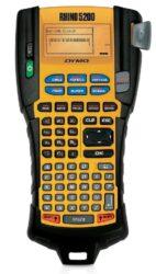 Štítkovač DYMO průmyslový RHINO 5200-Průmyslový štítkovač