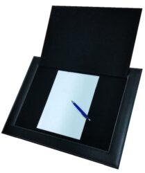 Podložka na psaní otvírací,  černá 55 x 42 cm(NT4724C)