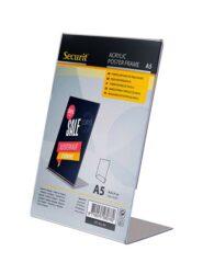 Průhledný stojánkový rámeček šikmý, A5(PFT-ACL-A5)
