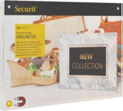 Akrylátový oboustranný A4 rámeček pro vložení plakátku se silnými magnety(PFT-MAG-A4)
