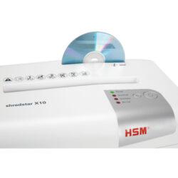 HSM Shredstar X10 4,5x30 mm White Skartovací stroj(SK00006w)