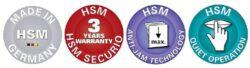 HSM SECURIO P36i 0,78x11 mm  Skartovací stroj(SK0074i)