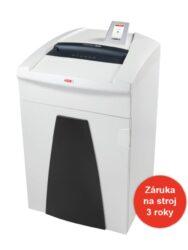 HSM SECURIO P40i 1,9x15 mm Skartovací stroj   s CD vstupem-Výkonný profesionální skartovací stroj elektronicky řízený dotykovým displejem, s dlouhou životností (cca. 10 let)