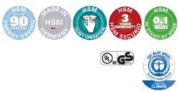 HSM SECURIO C18 1,9x15 mm Skartovací stroj(SK01027)