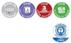 HSM SECURIO B35 3,9 mm Skartovací stroj(SK01033)